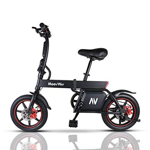 Windgoo Bicicletta Elettrica Pieghevole, Bici elettrica 350W 36V 6.0AH, E Bike 25KM/H, Bici Elettriche - Electric Bike, Capacità di Carico 120KG (B20-Pedale)