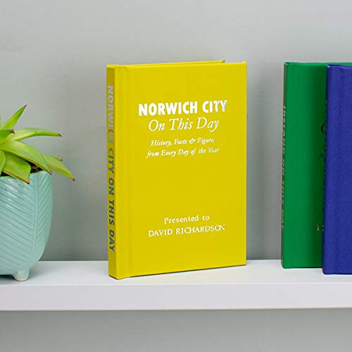 Signature gifts Personalised Norwich City On This Day Book