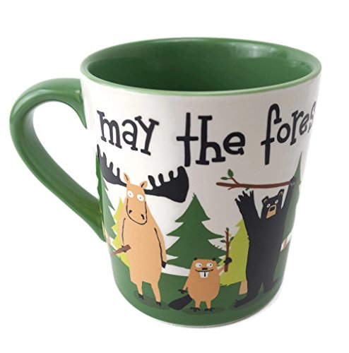 Little Blue House By Hatley Tasse Maya The Forest Beige With You, 400 ml