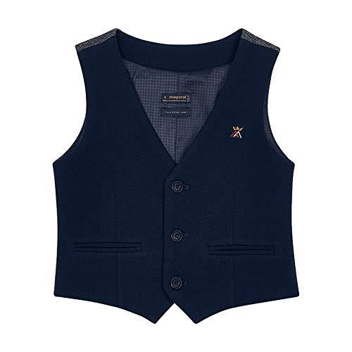 Mayoral Jungen Anzug-Weste festlich Festmode klassisch, Größe:134, Farbe:Marineblau