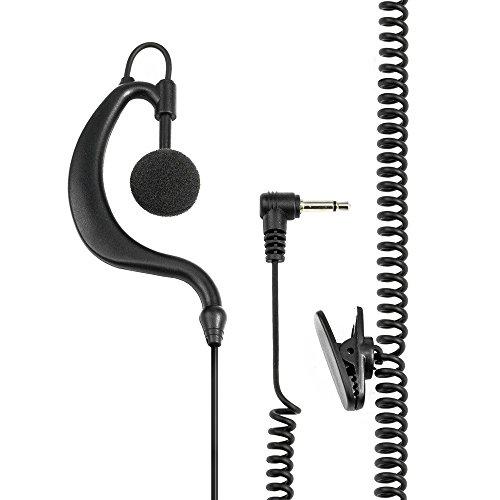 Midland C859 - Auricular con soporte para radios Midlan G7 y G9