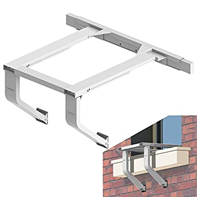 Jeacent AC Window Air Conditioner Support Bracket No Drilling