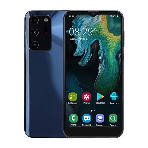 Sorandy Teléfono Móvil Libres 3G, NOTE30U 3G Android Celulares Desbloqueados Smartphone Libre, 6.3'' Waterdrop Pantalla, 1GB + 8GB, Batería 3800mAh, Face ID+Fingerprint, Dual SIM, GPS, WiFi(Negro)