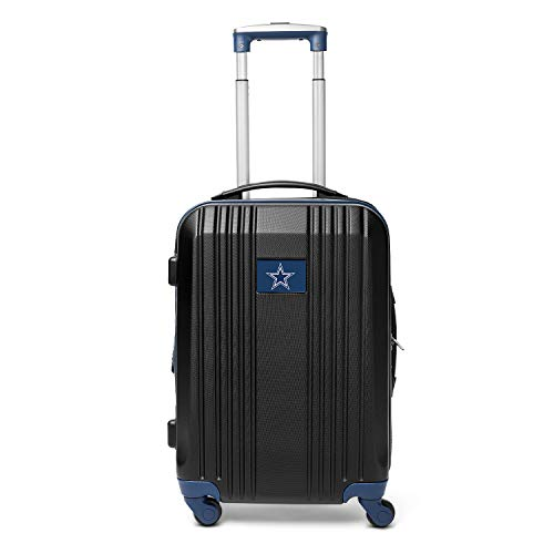 Save %10 Now! NFL Dallas Cowboys Round-Tripper Two-Tone Hardcase Luggage Spinner
