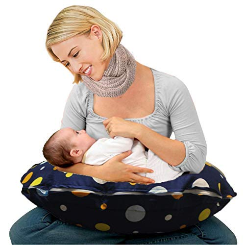 Kradyl Kroft Down 5 in 1 Baby Feeding Pillow with Detachable Cover