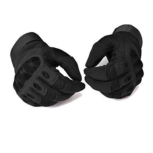 COTOP Motorrad Handschuhe, Hard Knuckle Handschuhe Motorrad Handschuhe Motorrad ATV Reiten Full Finger Handschuhe für Männer (M) - 3