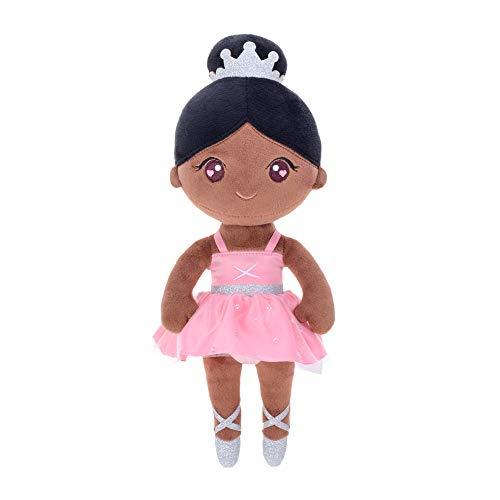 Gloveleya Muñeca de Peluche muñeca de Trapo Peluche Regalo de niña Suave y Seguro para Jugar - Bailarina de Ballet Bailarina de Ballet