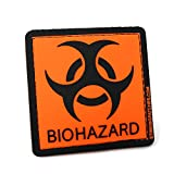 Biohazard PVC Tactical Morale Patch | Funny and Practical! Great for Tactical Diaper Bags!