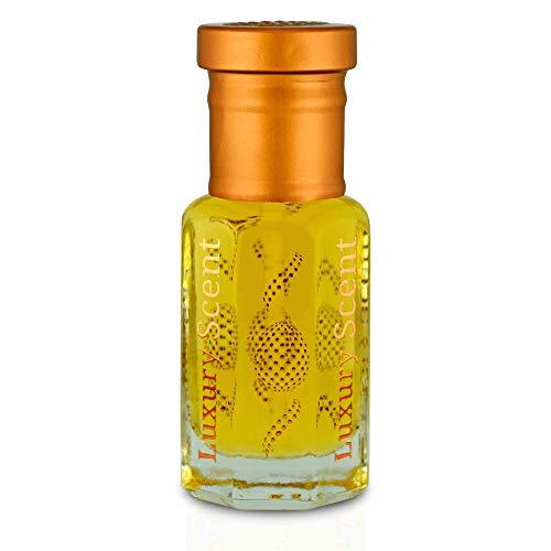 Luxury Scent Safran Oud Parfümöl Super Clean Oud Holziger Blumiger Ambery 6 ml Parfüm-Flasche zum Rollen von Parfüm Premium-Qualität Attar Duft Langlebig