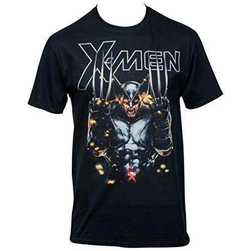 Camiseta X-Men Wolverine X-Force Messiah War, Preto, XL