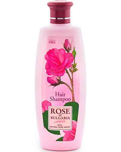 Shampoo für alle Haartypen mit Rosenwasser