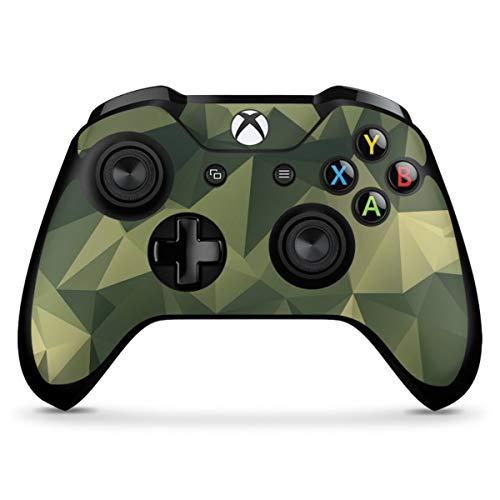 DeinDesign Skin kompatibel mit Microsoft Xbox One X Controller Folie Sticker Camouflage Tarnmuster Bundeswehr