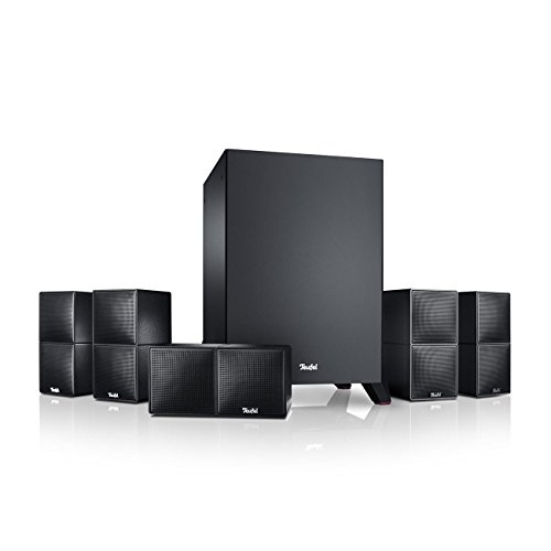 Teufel Cubycon Power Edition Schwarz Heimkino Lautsprecher 5.1 Soundanlage Kino Raumklang Surround Subwoofer Movie High-End HiFi Speaker