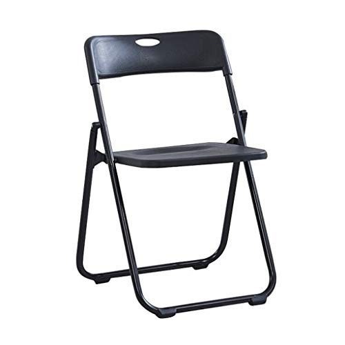 Lxn Chaise de salle à manger pliable de conception de simplicité simple,jambes en métal de siège en plastique portatif chaises,salle à manger,cuisine,salle de réunion,bureau,chaise d'ordinateur - 1pcs