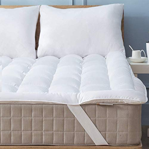 Niagara Sleep Solution Mattress Topper Twin 39x75 Quilted Down Alternative Anchor Band 4 Corner product image