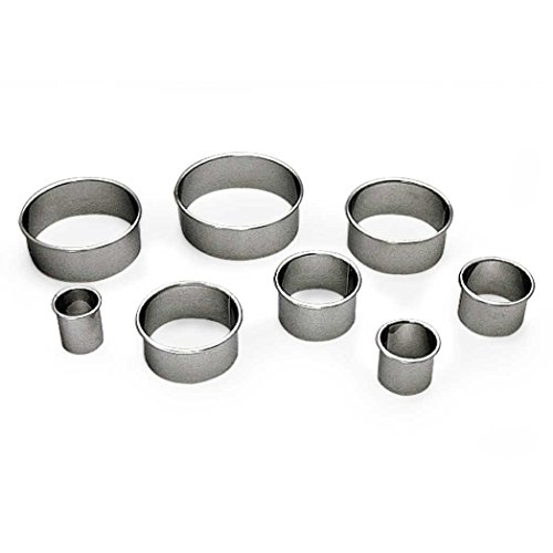 Gobel–Coppapasta Lisci, in acciaio inox Forno–40mm Altezza 36mm