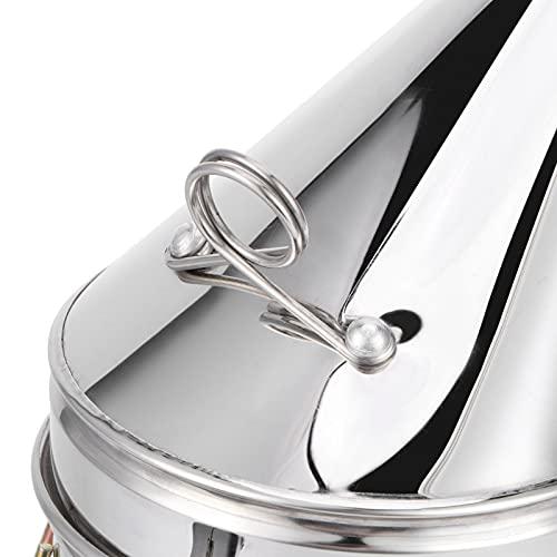 Snufeve6 Ahumador de Abejas eléctrico, Herramienta para Fumar Colmena, ahumador de Colmena, para Abejas de Apicultura, operación Simple y Duradera
