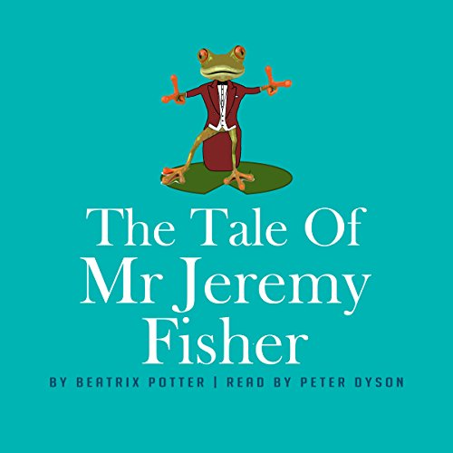 『The Tale of Mr Jeremy Fisher』のカバーアート