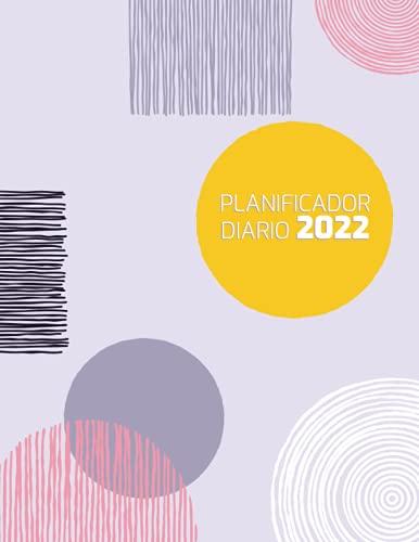 planificador diario 2022: Agenda negra piel diaria dia por pagina de enero a diciembre | Diario personal adulto: elegante y profesional | Organizador ... anual dia vista 12 meses | cuaderno 2022