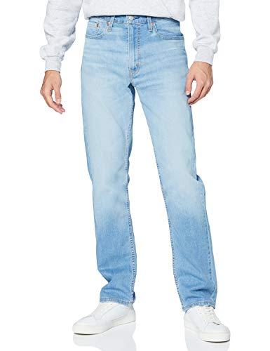 Levi's 514 Straight Jeans, Florida Light Mid LTWT, 34W x 32L Uomo