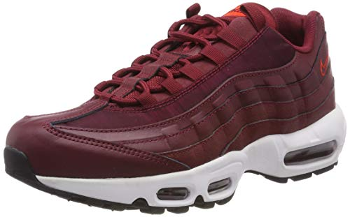Nike Damen WMNS Air Max 95 Gymnastikschuhe, Rot (Team Red/Team Red/Black/Habanero Red 605), 39 EU