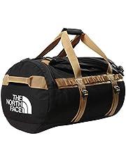 The North Face - Gilman Duffel Bag - Duurzame Base Camp Bag met Schouderbanden - Zwart/Britse Khaki, S