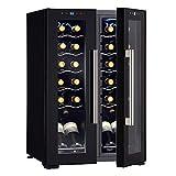 Wine Enthusiast 24-Bottle French Door Dual-Zone Compressor Wine Cooler