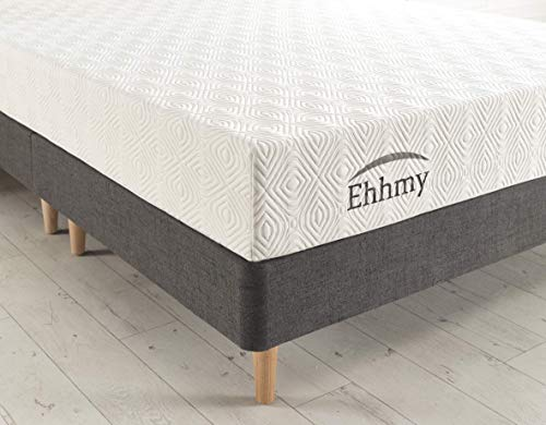 Ehhmy Standard Feel Deluxe Ventilated Advanced Coolblue Mattress With Special Tailor Made Zip Cover (Small Double (120cm X 190cm))