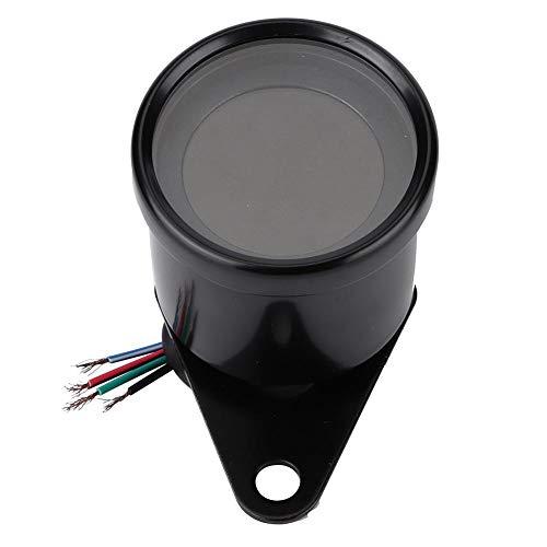 12V Digitaler Motorrad-Geschwindigkeitsmesser, universeller Tachometer mit LED-Hintergrundbeleuchtung, Motorrad-Tachometer-Ölstandsmesser