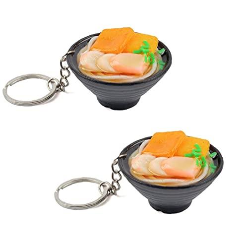 Random 2 Piezas De 1/6 De Muñecas En Miniatura para La Alimentación Llavero Blyth Barbi Simulación Linda Mariscos Fideos Modelo Cocina Alimentos Juegos De Imaginación Juguete