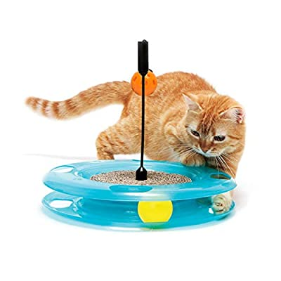 Toys for cats Kitty City Swat Track Cat Toy,... [tag]