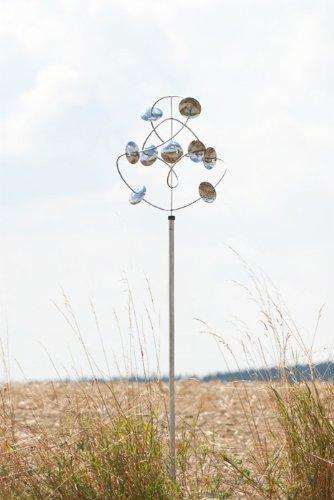 Wind dancer galaxy carillon-lampe: windchime, décoration