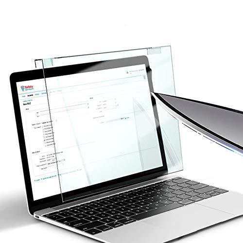 WLWLEO Pellicola salvaschermo per Laptop da 12-17 Pollici Pellicola filtrante Anti Luce Blu Blocco del Pannello di Protezione UV per Laptop Notebook PC Monitor Proteggi la Vista,15.6  370×228mm