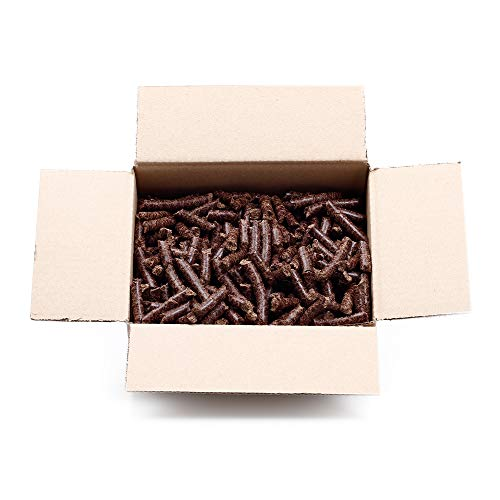 Pferdefutter Pellets Ergänzungsfutter für Pferde Leinkuchen   grobes Granulat   haferfrei   1,5 kg Box