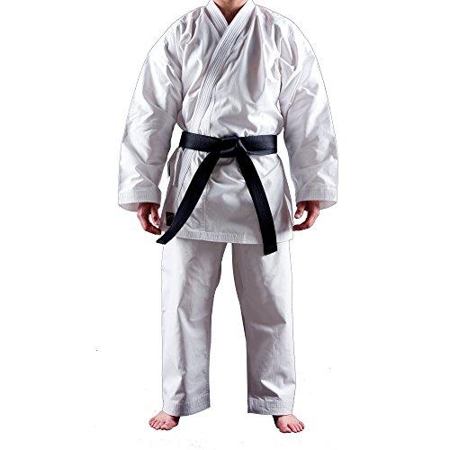 Uniforme Karate Gi Shuto Training | Karate Gi Blanco | 10 Onzas | Kimono Karate | 160 cm