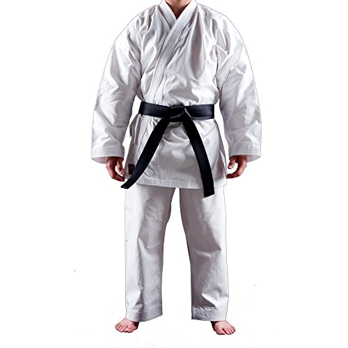 Uniforme Karate Gi Shuto Training | Karate Gi Blanco | 10 Onzas | Kimono Karate