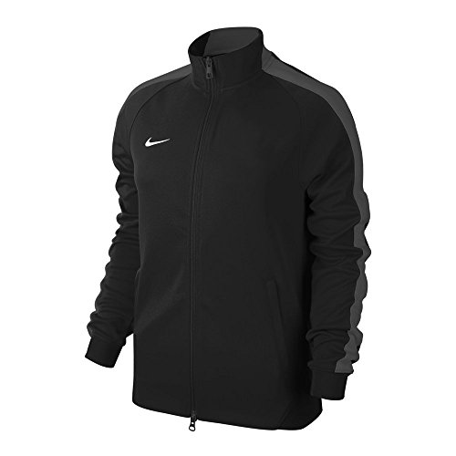 NIKE Herren Trainingsjacke Team Authentic N98, 588444-010, Schwarz (Black/anthracite/football white), Gr. L