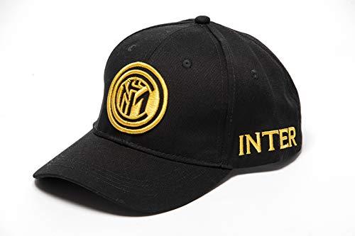 FC Inter In Cap C 08 Katoenen hoed zonder Gener, Zwart, Eén maat
