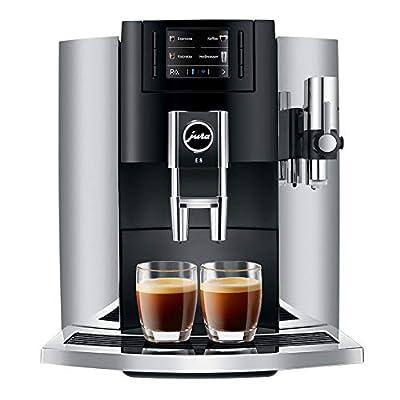 Jura E8 Automatic Coffee Machines 15271, Chrome