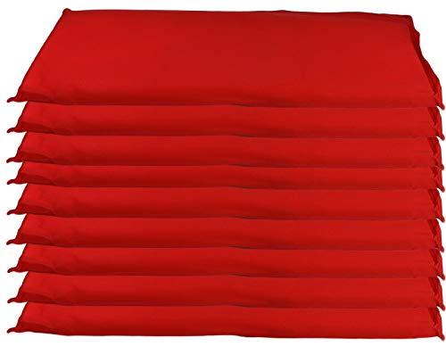 Wasserschutzkissen | 9 teiliges Set | pro Sack 44 x 20 cm | Hochwasserschutz | Instant Sandsack | Absorbierende Wasserbeutel pro Sack bis zu 5 Liter | Sofort Einsatzbereit