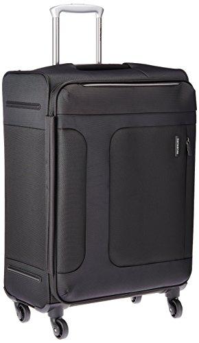 [サムソナイト] スーツケース キャリーケース アスフィア スピナー66 保証付 70L 67 cm 3.1 kg 56404 ブラック (出張・ビジネス・旅行・ラゲージ・Suitcase・Luggage・キャリーバッグ・TSAロック・大容量・軽量)