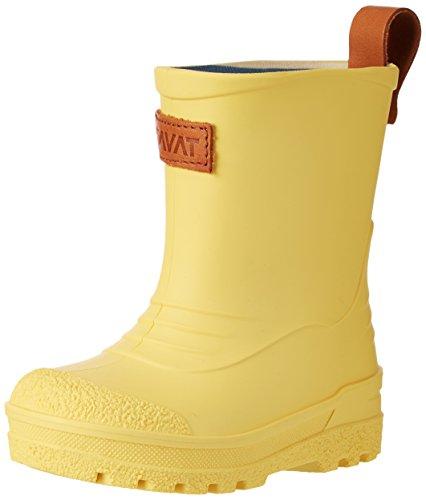 Kavat Grytgöl Wp, Hi-Top Bottes de Pluie mixte enfant - jaune - Gelb (Light Yellow),