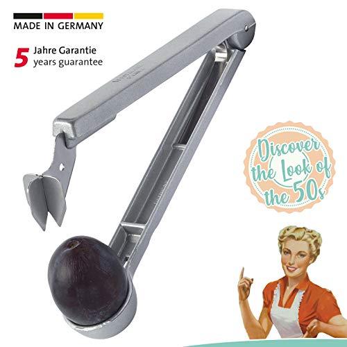 Westmark Pflaumenentsteiner, Retro-Design, 16,7 x 3,2 x 3,8 cm, Aluminium/Beschichtet, Steinex Retro-Look, 4010RT60