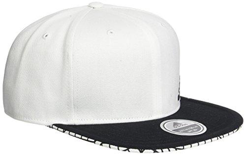 adidas Flat Cap GRFC Kappe, Weiß/Negro, OSFL