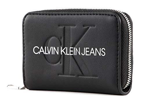 Calvin Klein Zip Around Wallet M Black