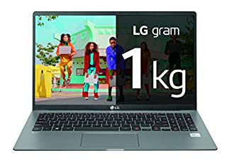 "LG gram 15Z90N-V-AA78B - Ordenador portátil ultraligero de 15.6"" FullHD IPS (Intel Core i7-1065G7, 16GB RAM, 512GB SSD, Windows 10 Home+) Plata - Teclado QWERTY Español (B0861X1S44) 