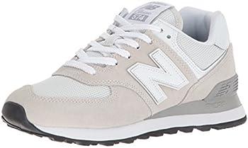 New Balance Women s 574 V2 Evergreen Sneaker White/White 8.5
