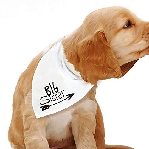 FETEAM Big Sister Dog Bandana, Dog Pregnancy Announcement Bandana, Gnero Reveal Photo Booth Props, Pet Scarf, Pet Accessories, Cat Bandana