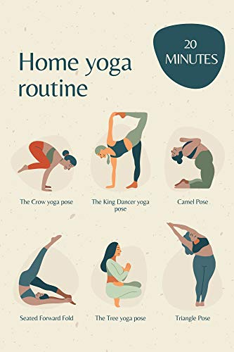 home yoga routine: for woman