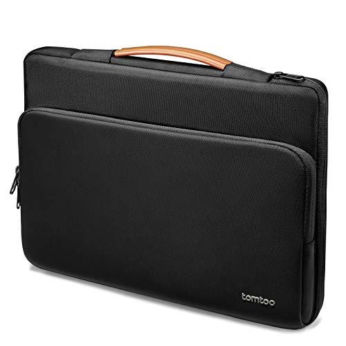 tomtoc 360 Schutzhülle Laptop Sleeve für 13,5 Zoll New Microsoft Surface Book 3/2/1, Surface Laptop 3/2/1, Wasserdichte Laptop Hülle für 13 Zoll Old MacBook Air/MacBook Pro, Ultrabook Zubehör Tasche